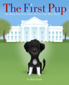 Author Bob Staake's cover for The First Pup